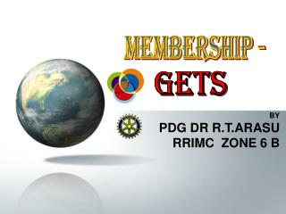 BY PDG DR R.T.ARASU RRIMC  ZONE 6 B