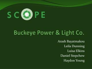 Buckeye Power & Light Co.