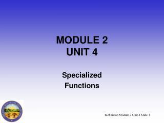 MODULE 2 UNIT 4