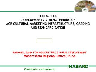 NATIONAL BANK FOR AGRICULTURE & RURAL  DEVELOPMENT Maharashtra Regional Office, Pune