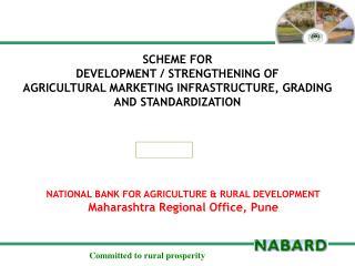 NATIONAL BANK FOR AGRICULTURE & RURAL  DEVELOPMENT Maharashtra Regional Office, Pune