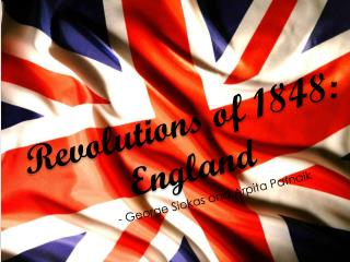 Revolutions of 1848: England