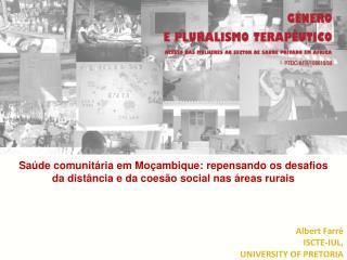 Saúde comunitária em Moçambique: repensando os desafios