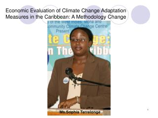Economic Evaluation of Climate Change Adaptation Measures in the Caribbean: A Methodology Change