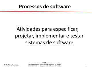 Processos de software