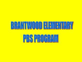 BRANTWOOD ELEMENTARY