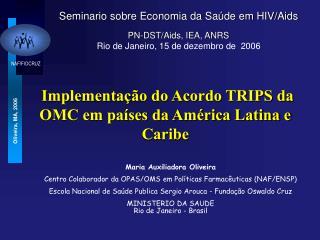 Implementação do Acordo TRIPS da OMC em países da América Latina e Caribe