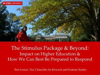 Terri Lomax, Vice Chancellor for Research and Graduate Studies