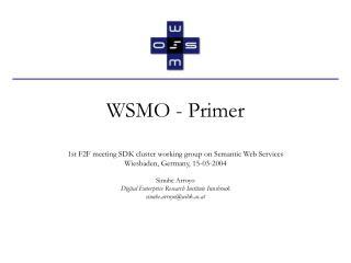WSMO - Primer
