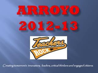 Arroyo 2012-13