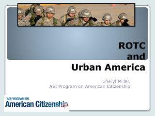 ROTC  and  Urban America