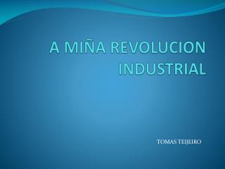 A MIÑA REVOLUCION INDUSTRIAL