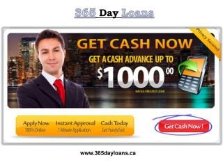 Instant Cash Loans Your Financial Requirements