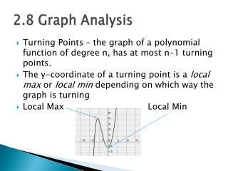 2.8 Graph Analysis