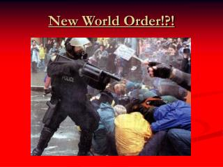 New World Order!?!