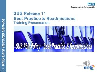 SUS Release 11 Best Practice & Readmissions