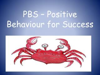PBS – Positive Behaviour for Success
