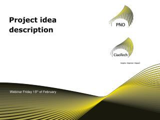 Project idea description