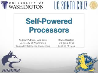 Self-Powered Processors