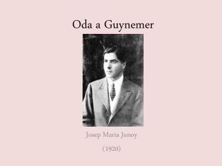 Oda a  Guynemer