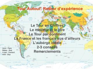Tour Autour: Retour d'expérience