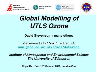 Global Modelling of  UTLS Ozone