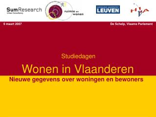 Wonen in Vlaanderen