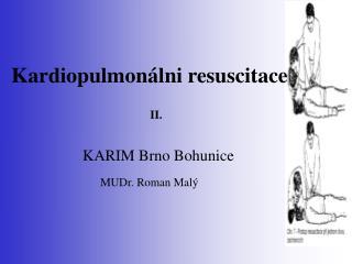 Kardiopulmon lni resuscitace