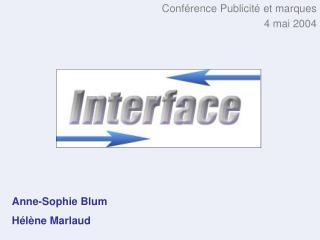 Anne-Sophie Blum Hélène Marlaud