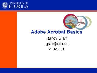 Adobe Acrobat Basics