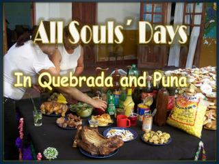All Souls´ Days