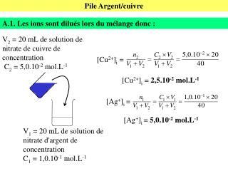 Pile Argent/cuivre