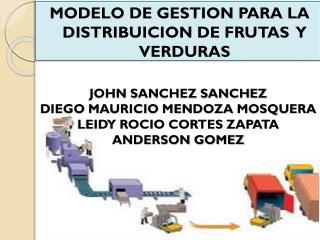 JOHN SANCHEZ SANCHEZ  DIEGO MAURICIO MENDOZA MOSQUERA LEIDY ROCIO CORTES ZAPATA ANDERSON GOMEZ