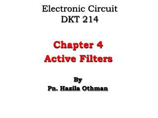 Electronic Circuit DKT 214