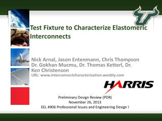 Test Fixture to Characterize Elastomeric Interconnects