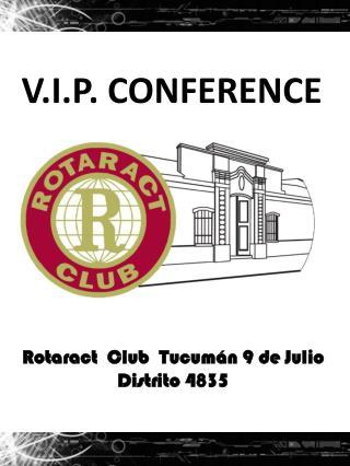 Rotaract  Club  Tucumán 9 de Julio Distrito 4835