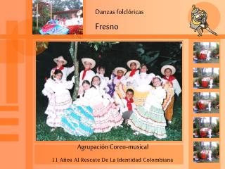 Danzas folclóricas Fresno