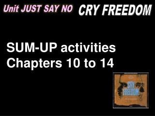 Unit  JUST SAY NO
