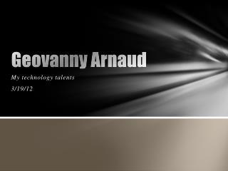 Geovanny Arnaud
