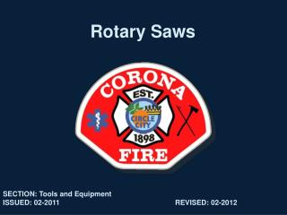 Rotary Saws