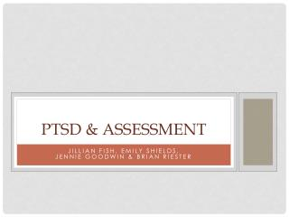 PTSD & Assessment