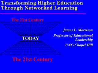 Transforming Higher Education Through Networked Learning