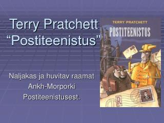 "Terry Pratchett ""Postiteenistus"""