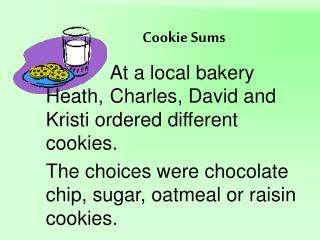 Cookie Sums
