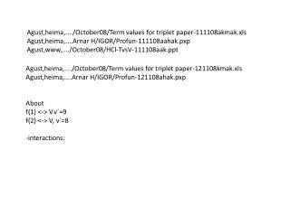 Agust,heima,..../October08/Term values for triplet paper-111108akmak.xls