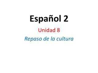 Español 2
