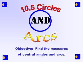 10.6 Circles