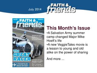 This Month ' s Issue A Salvation Army summer camp changed Major Mike Hoeft ' s life