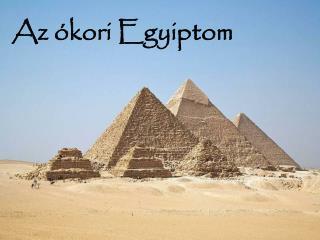 Az �kori Egyiptom