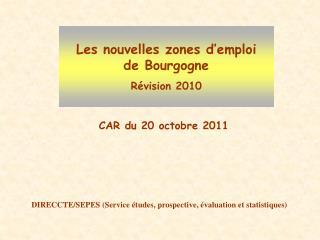DIRECCTE/SEPES (Service études, prospective, évaluation et statistiques)